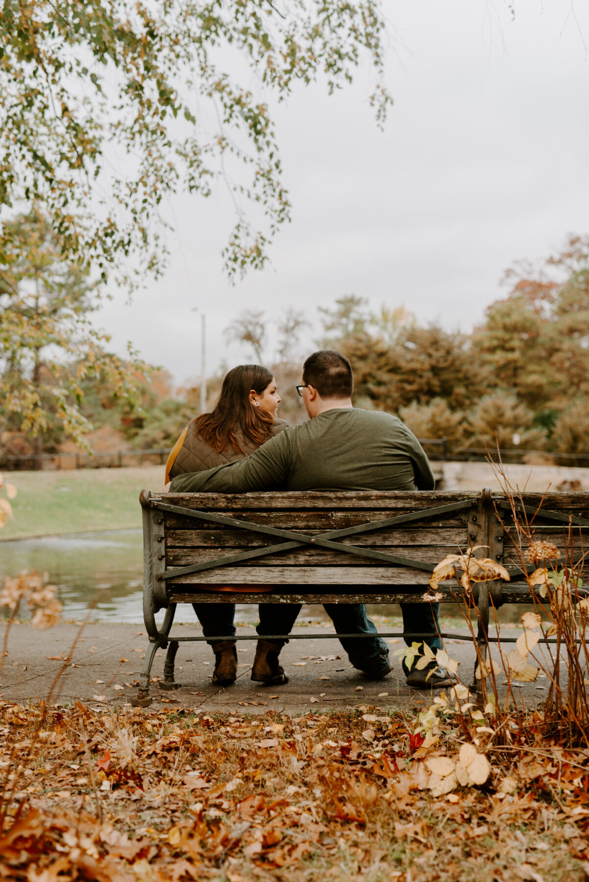 Roger Williams Park Providence Engagement Louann and Mike Blueflash Photography 10