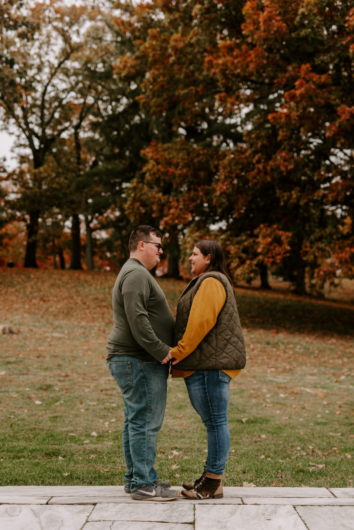 Roger Williams Park Providence Engagement Louann and Mike Blueflash Photography 3