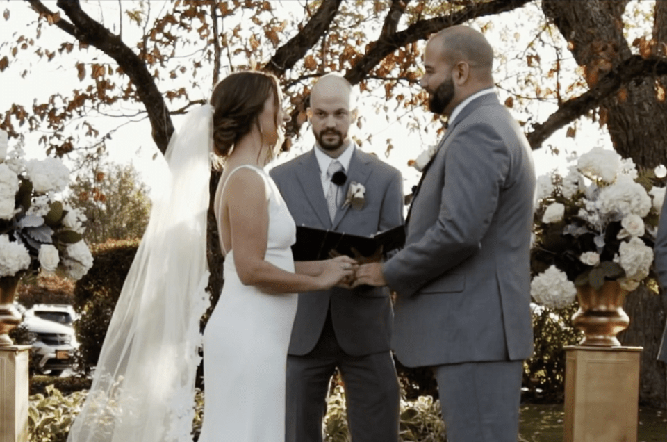 Wannamoisett Country Club Rumford Wedding Heather and Matthew Blueflash Photography