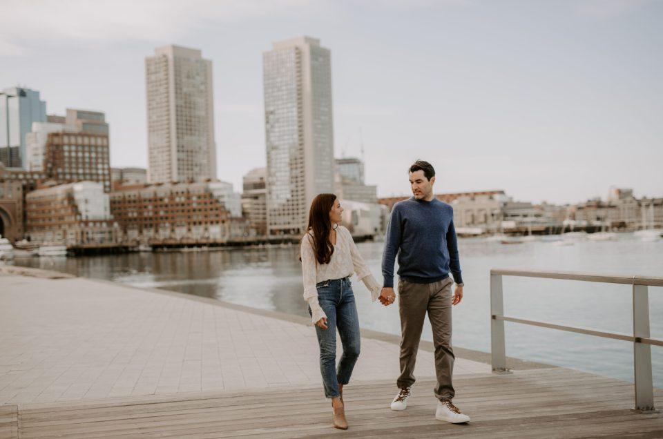 Rachel and Michael | Boston Engagement
