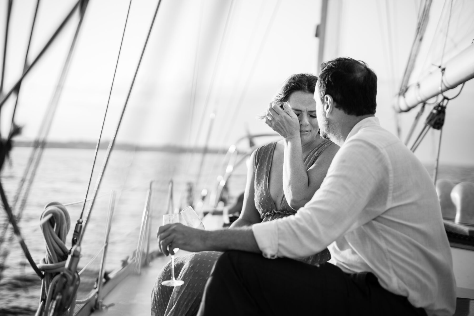 Sail Newport Proposal Jodi and Brian Blueflash Photography 10