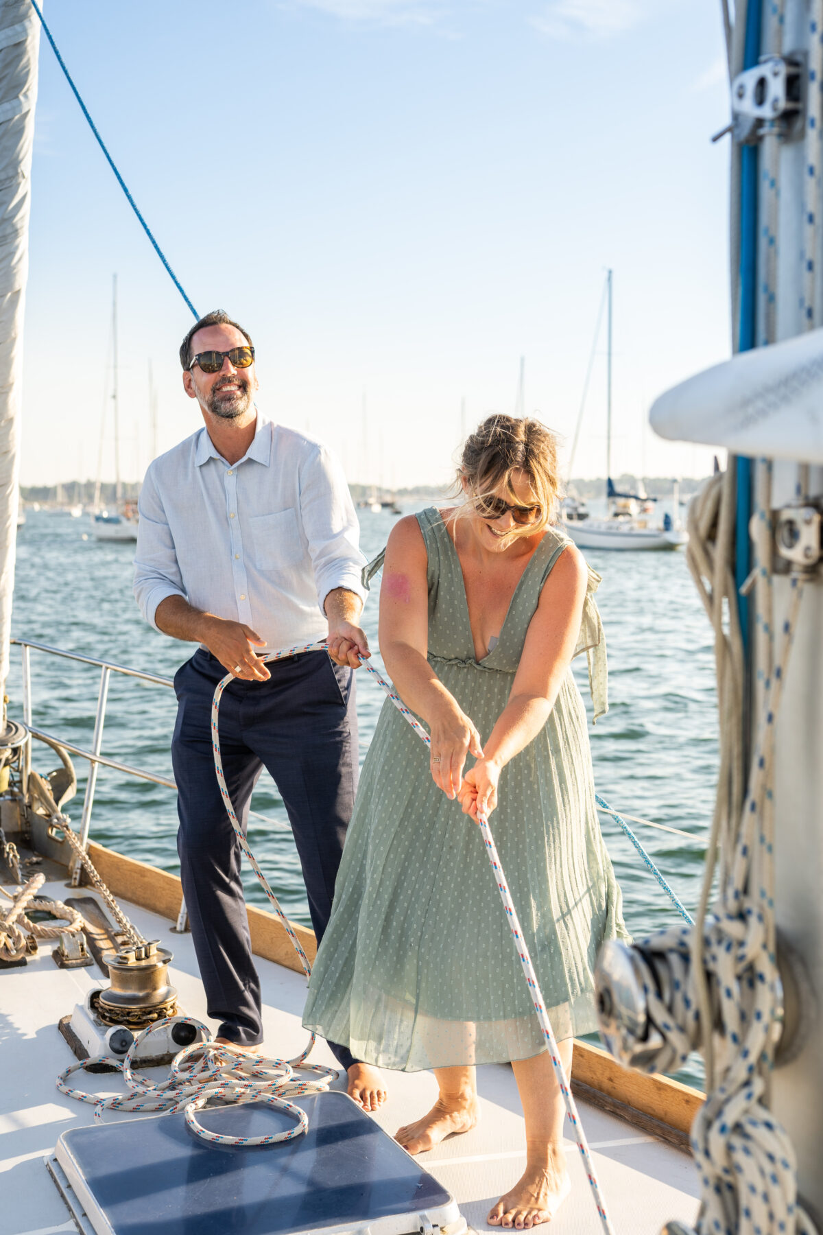 Sail Newport Proposal Jodi and Brian Blueflash Photography 25