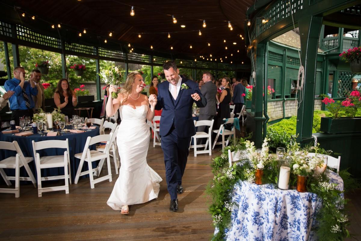 Jennifer and Mark | International Tennis Hall of Fame Wedding | Blueflash Photography