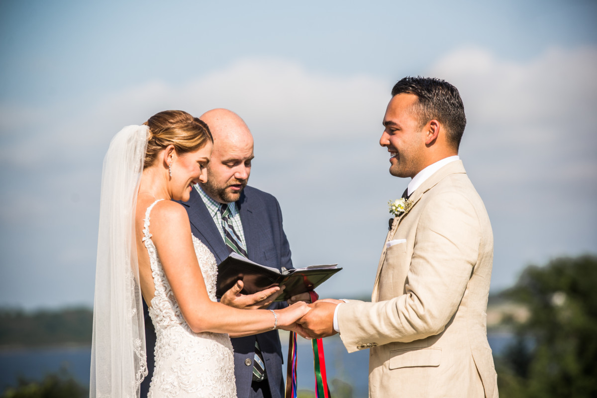 Courtney and Paolo | Greenvale Vineyards Wedding | Blueflash Photography