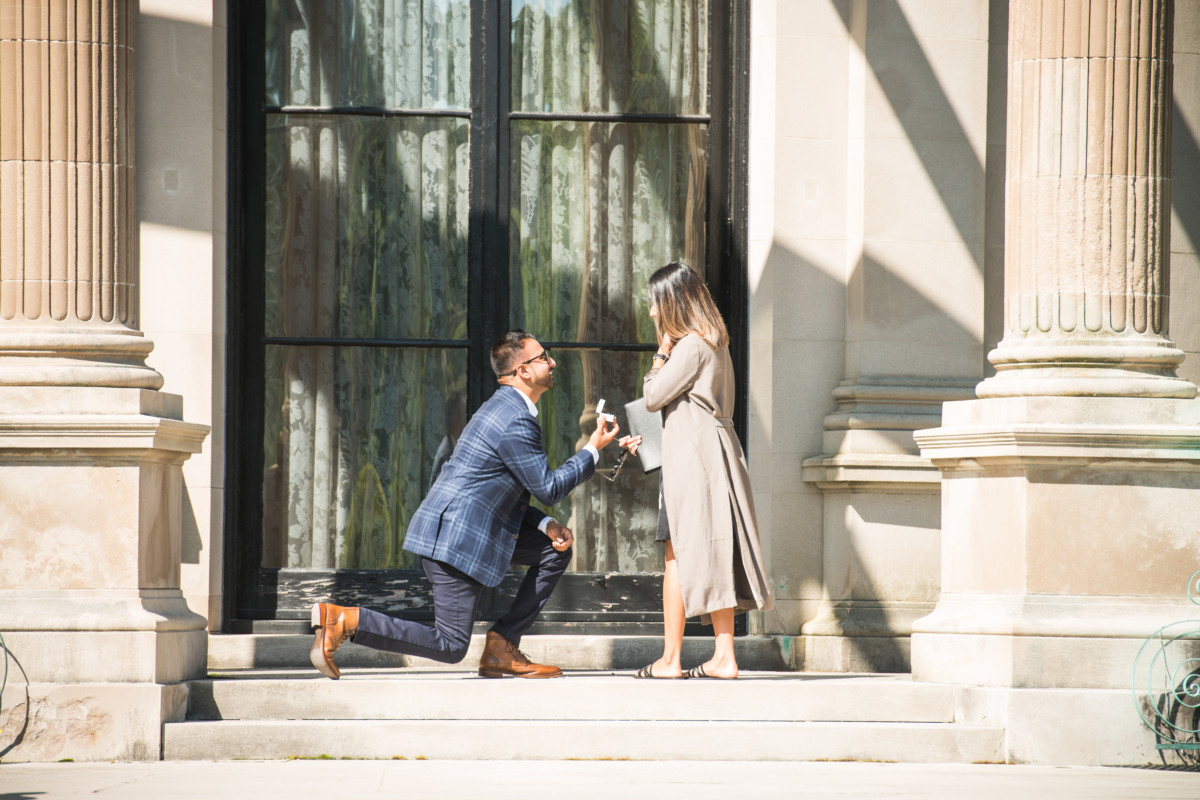 Jiten and Misha | Proposal at The Breakers | Blueflash Photography