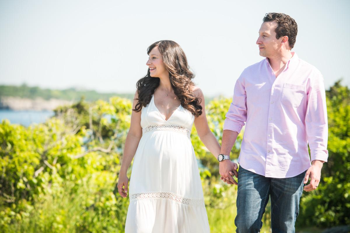 Kristen & Tony | Castle Hill Inn Maternity Session | Blueflash Photography