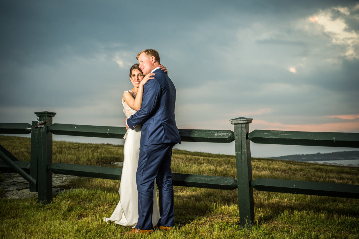 Mariel and Corey   Castle Hill Inn Wedding   Blueflash Photography