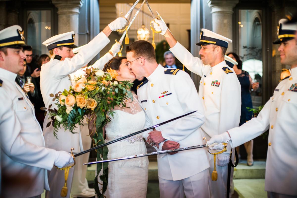 Eolia Mansion Wedding - Sword Arch
