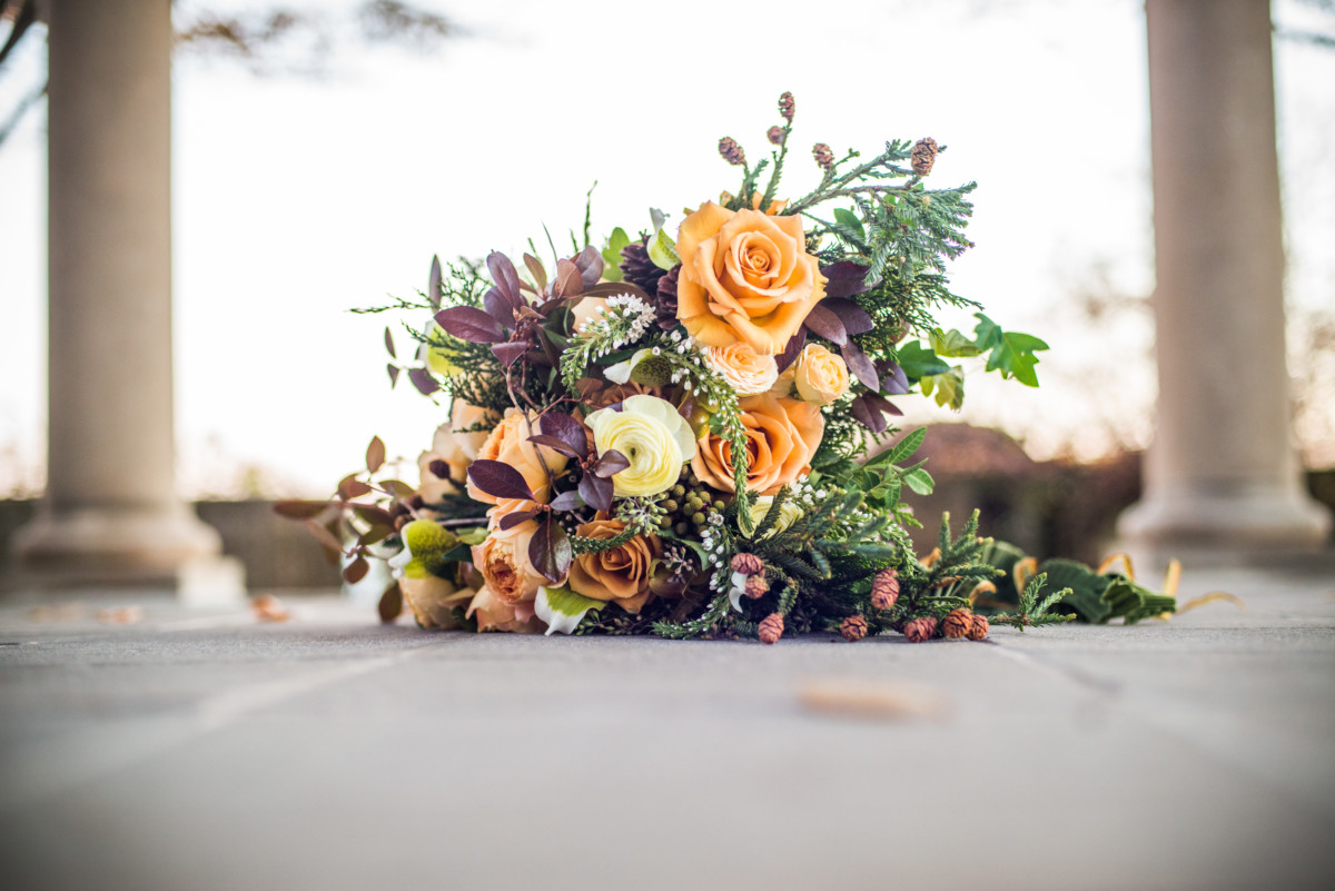 Eolia Mansion Wedding - Flowers by Semia