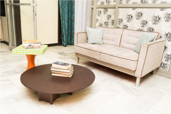 Love seat and coffee table