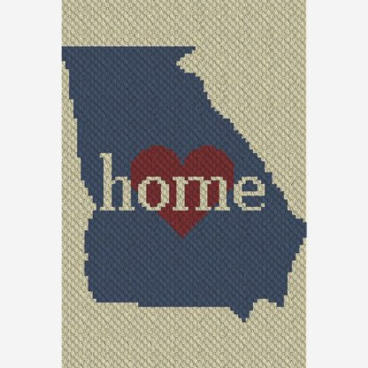 Georgia Home C2C Corner to Corner Crochet Pattern