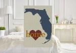 Heart Florida C2C Crochet Pattern