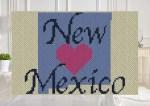 Heart Nebraska C2C Crochet Pattern