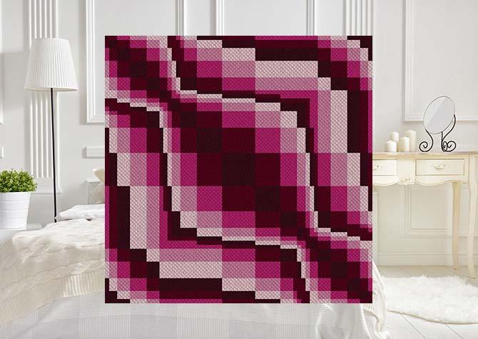 Rhody Riot C2C Crochet Pattern