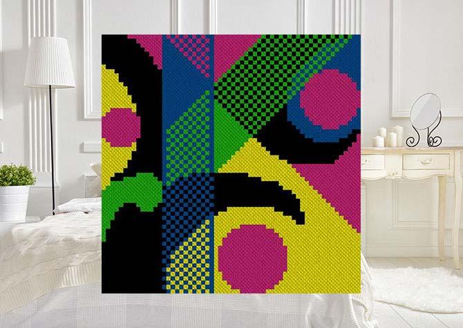 Wrapped C2C Crochet Pattern