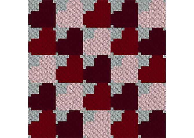 Hearts Aplenty C2C Crochet Pattern