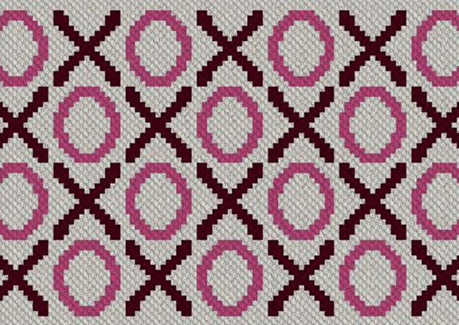 Hugs and Kisses C2C Crochet Pattern