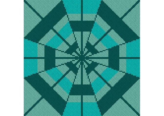 Infinite Snuggles C2C Afghan Crochet Pattern