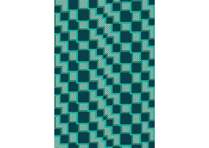 Into the Deep Blue Sea C2C Crochet Pattern