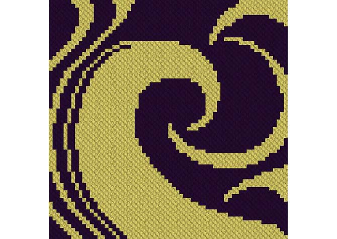 Into the Night C2C Crochet Pattern