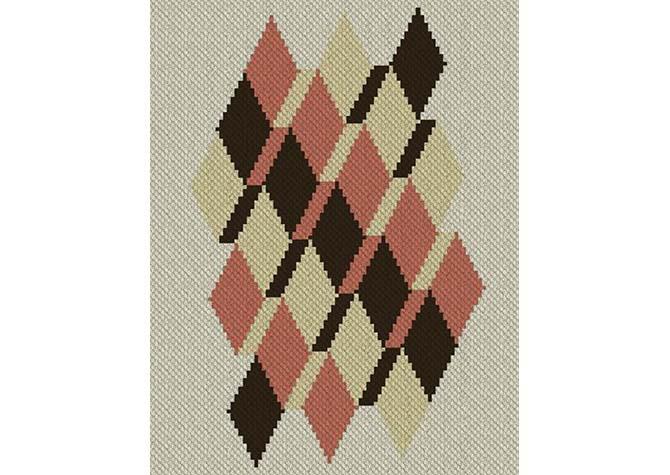 Perspective C2C Afghan Crochet Pattern
