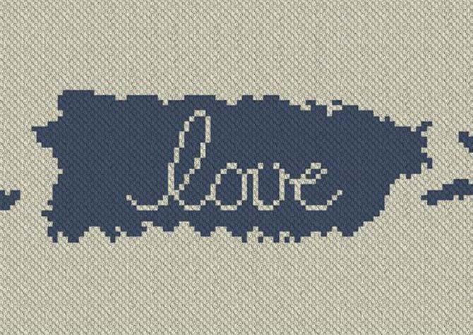 Puerto Rico Love C2C Afghan Crochet Pattern