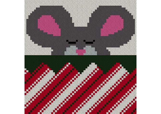 Snug in a Rug C2C Lapghan Crochet Pattern