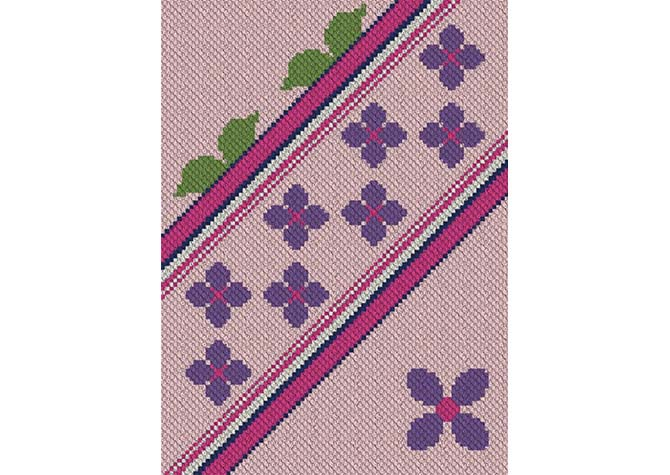 Spring Lane C2C Crochet Pattern