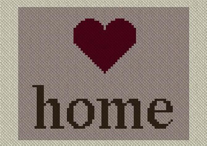 Wyoming Home C2C Afghan Crochet Pattern