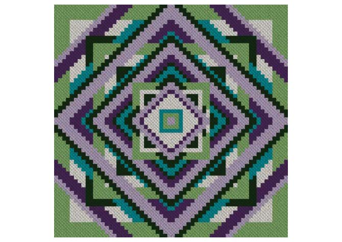 Fit to be Squared Counted Crochet Pattern