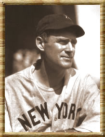 Hall of Famer Earle Combs