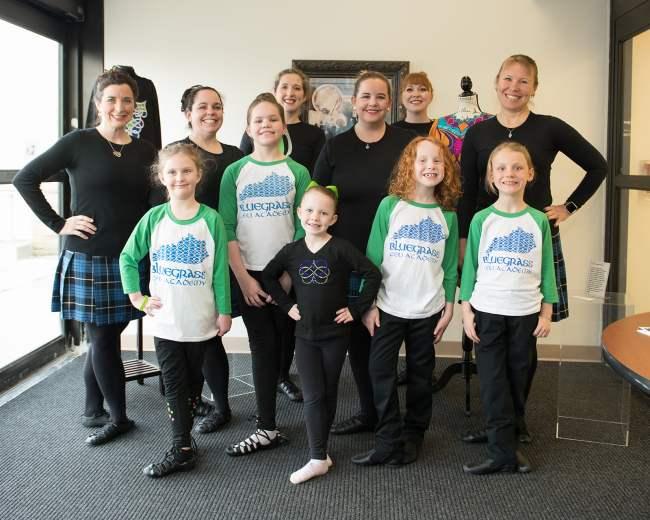 Lexington Irish dance school