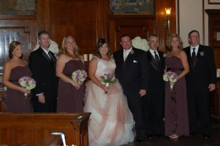 Bridal party.
