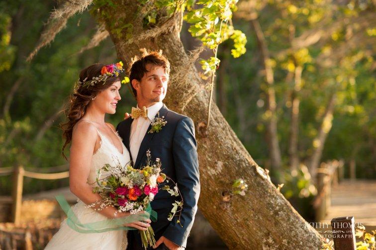 Bohemian bridal bouquet - Kathy Thomas Photography