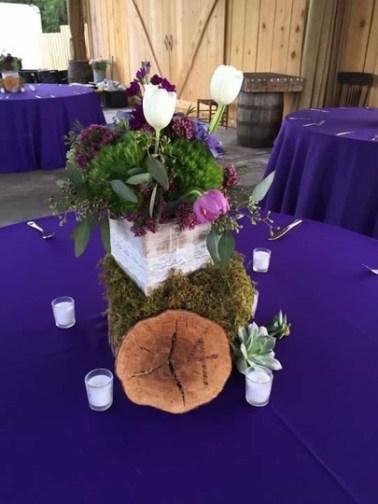 Isola Farms Wedding; Purple
