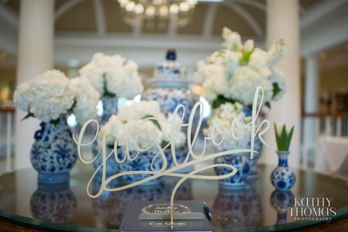 The guestbook table was a perfect way to treat guests upon entry with an abundance of vases