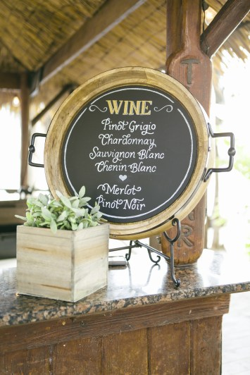 Chalk art by Chalk Shop - Wine Menu