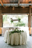 How stunning is this Sweetheart Table for our guests of honor?