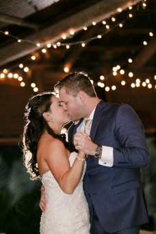 First Dance and kiss