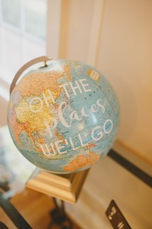 Globe for guest signing