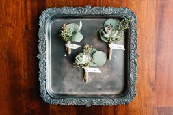 Southern elegance, Central Florida Florist, Bluegrass Chic, Succulent, Boutonnieres, southern boutonnieres, twine
