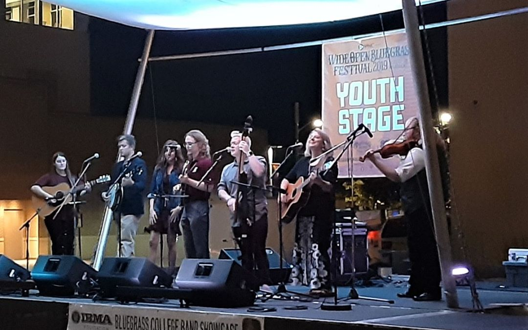Bluegrass College Band Showcase in Raleigh October 1-2
