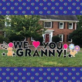 love-granny-yard-card
