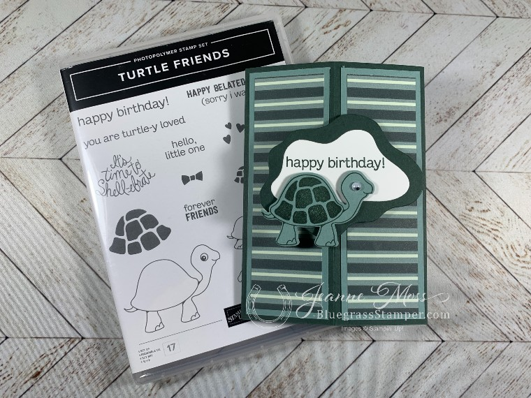 Turtle Friends Stamp Set and Card