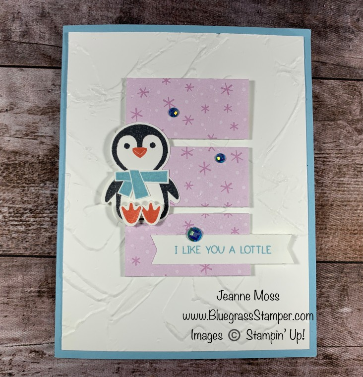 September Special Penguin Place Winter Card