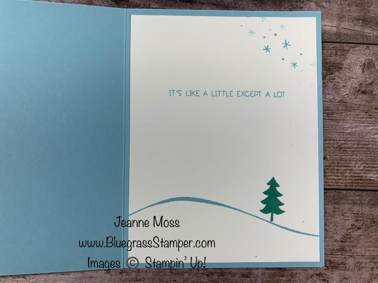 September Special Penguin Place Winter Card Inside