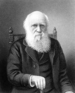 Charles Darwin at old age.