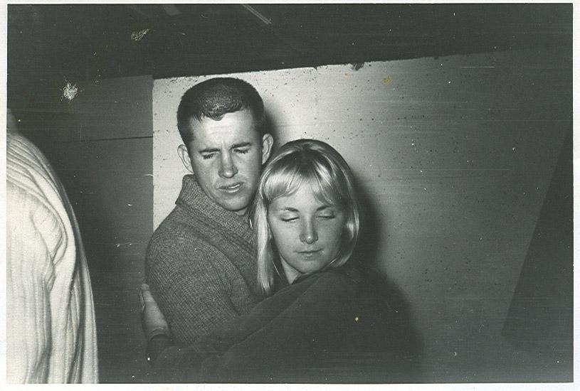 Bill Yeakle and friend.