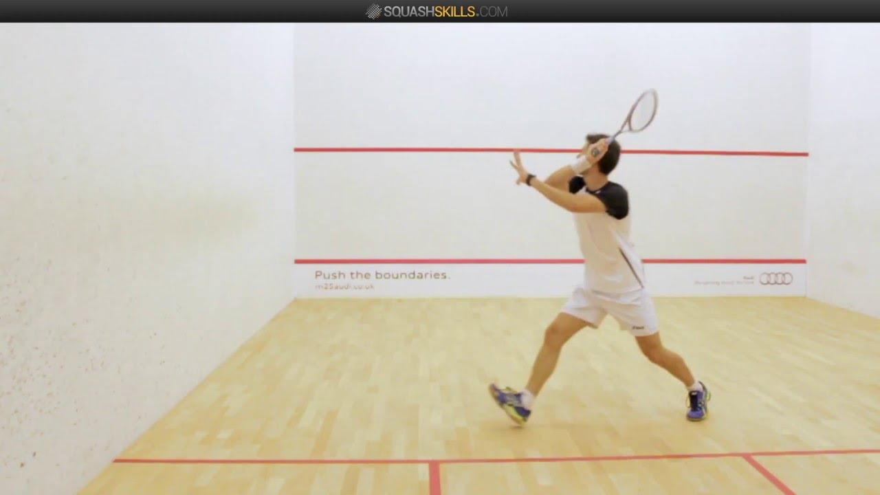 Volleying in Squash