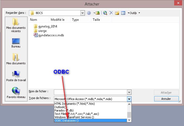 access_lier_odbc